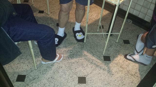Preservaremos a identidade dos donos dos pés registrados nessa imagem.