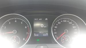 Sim, a foto e a temperatura são de Curitiba.