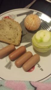 Café da manhã . =D