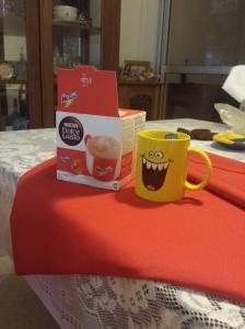 Hora do leitinho.